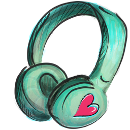 headphone icon casque audio