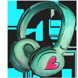 headphone icon casque audio
