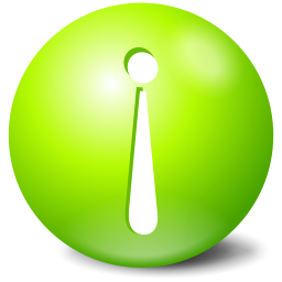 info green exclamation
