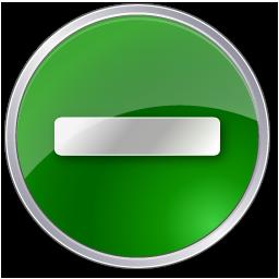 minus circle green