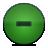 button minus green