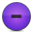 button minus violet