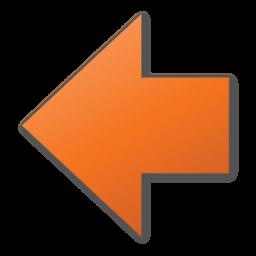arrow left red