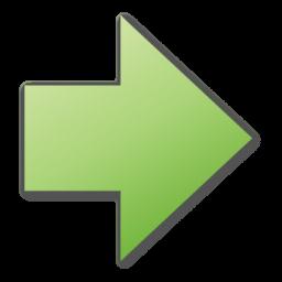 arrow right green