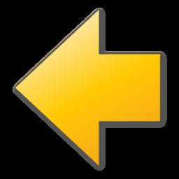arrow left yellow