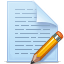 document pencil