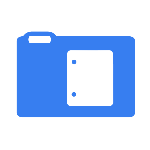 documents blue