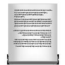 text document default