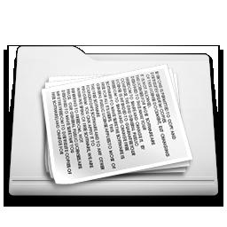 white folder documents