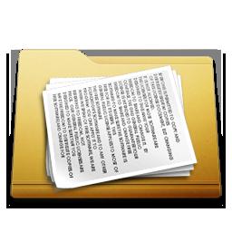 classic folder documents