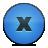 button delete blue