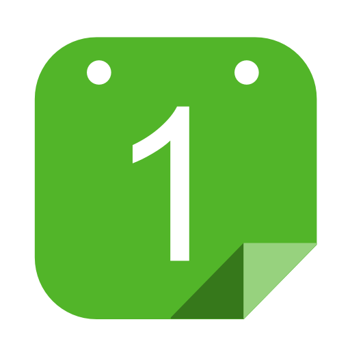 Blank Calendar Icon Green : Icones calendrier images png et ico