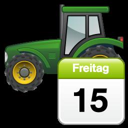 tractor calendar calendrier