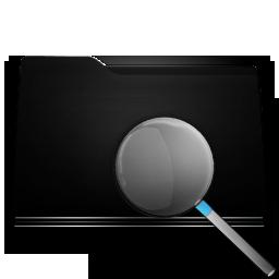 black folder search