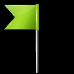 flag4 left chartreuse