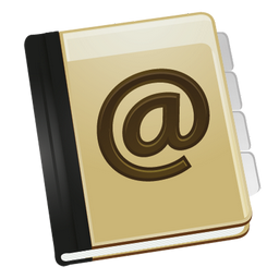 app addressbook carnet adresse