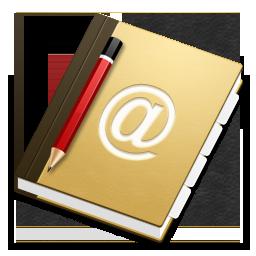 address book carnet adresse