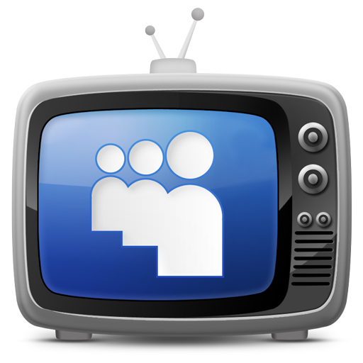 tv set icon myspacce