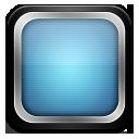 tv tele blueblack