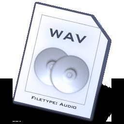 file types wav