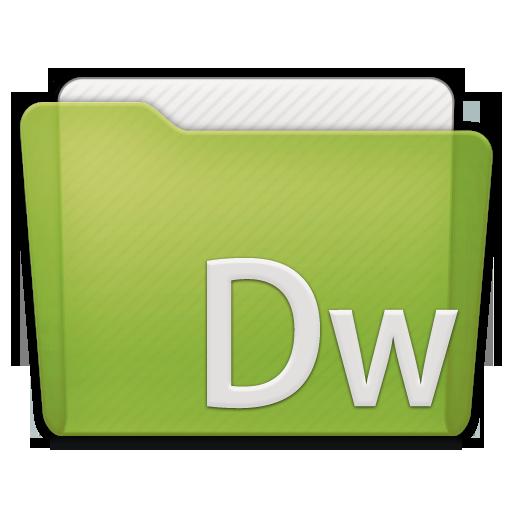 folder adobe dw