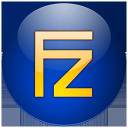 filezilla bleu