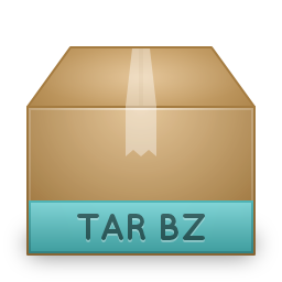 bzip compressed tar