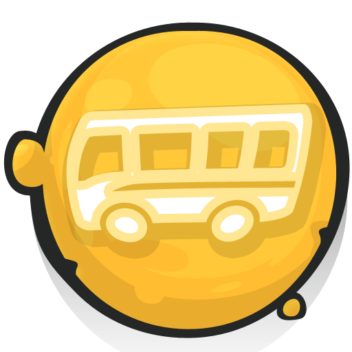 cartoony icons bus2