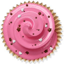 douceur cake muffin cupcake pink