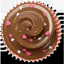 douceur cake muffin cupcake brown