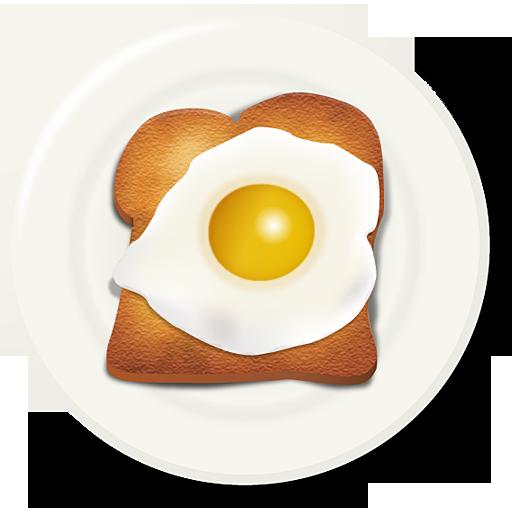egg toast breakfast