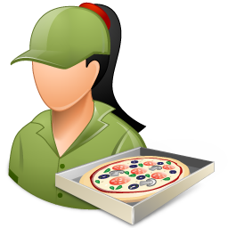 pizzadeliveryman female