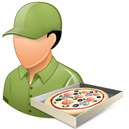 pizzadeliveryman male