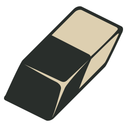 eraser vintage