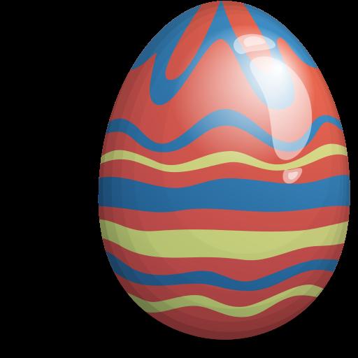 easter egg red green blue 512