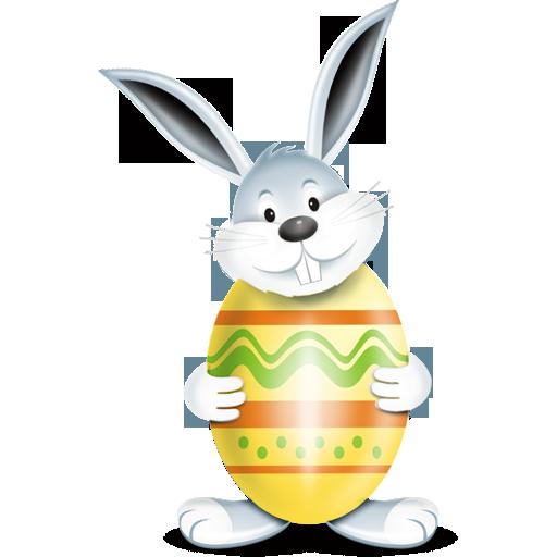 lapin egg oeuf yellow