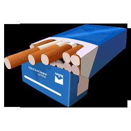 cigarretes bleu