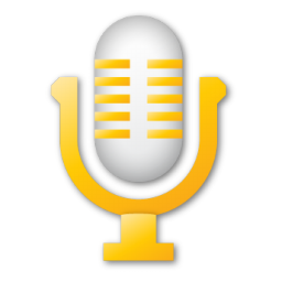 microphone yellow