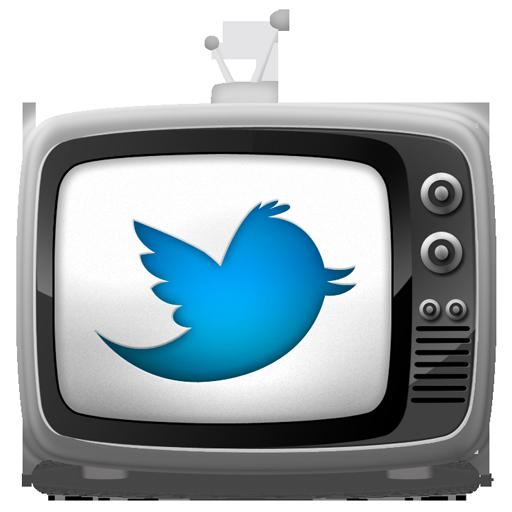 tv set icon twitter bird