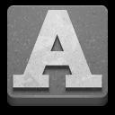 applications fonts