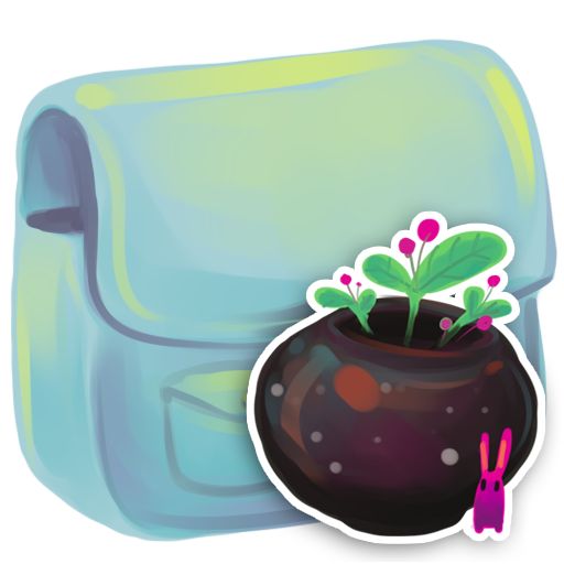 folder flowerpot