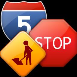 desktop road signs