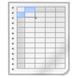 office spreadsheet