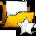 folder unstarred