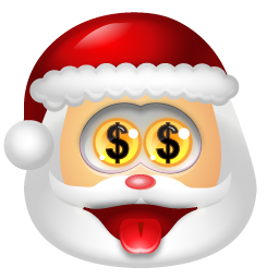 santaclaus money