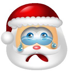 santaclaus cry