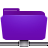 folder remote violet