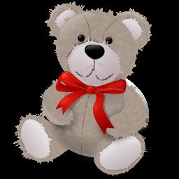 teddybear redribbon