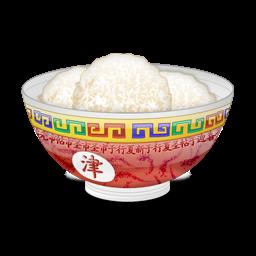 bol de riz plein