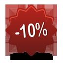 10 pourcentage off